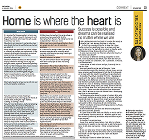 Post image for Home is where the heart is